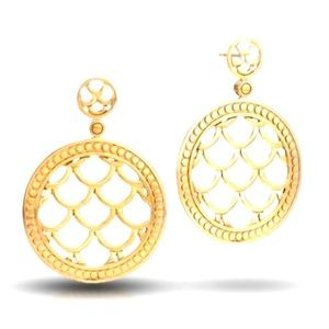 John Hardy Naga 18-karat yellow gold earrings